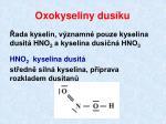 oxokyseliny dus ku