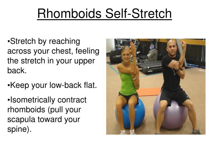 Rhomboids Self-Stretch