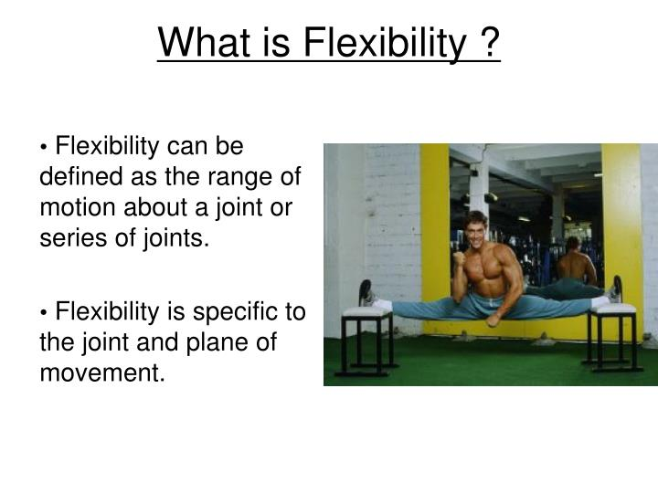 What is Flexibility ?