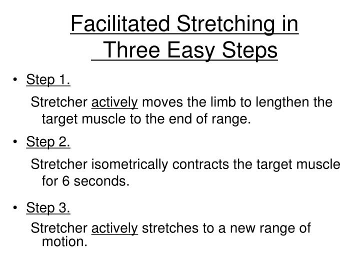 Facilitated Stretching in