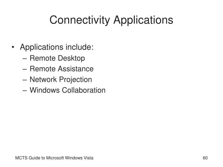 Connectivity Applications