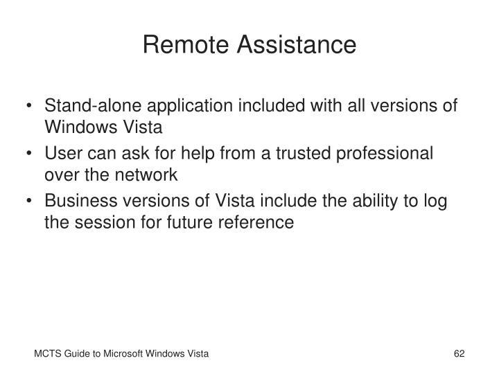 Remote Assistance