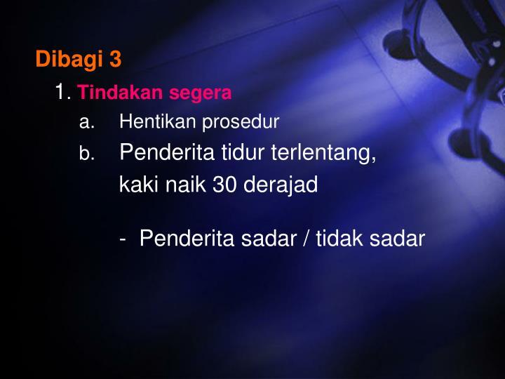 Dibagi 3