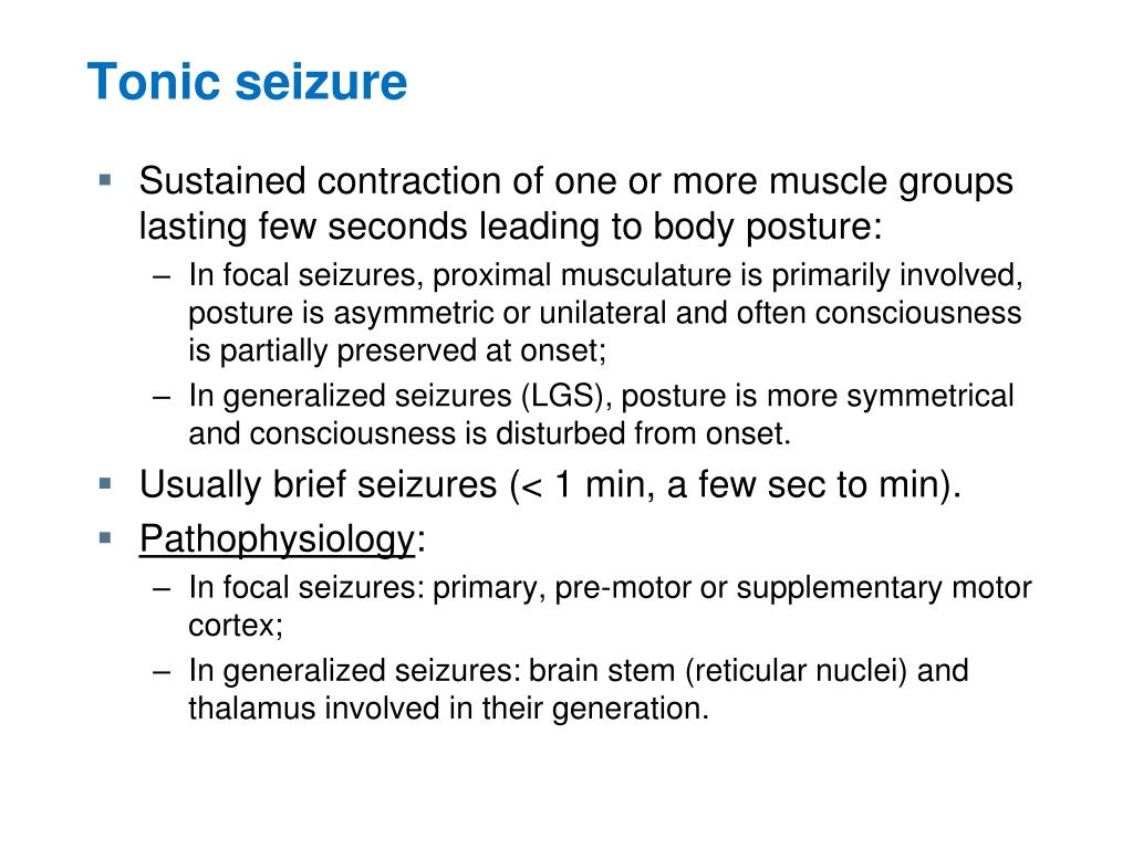 PPT - Semiology ( signs and symptoms ) of Seizures