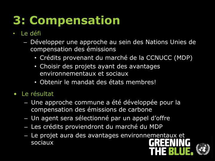 3: Compensation