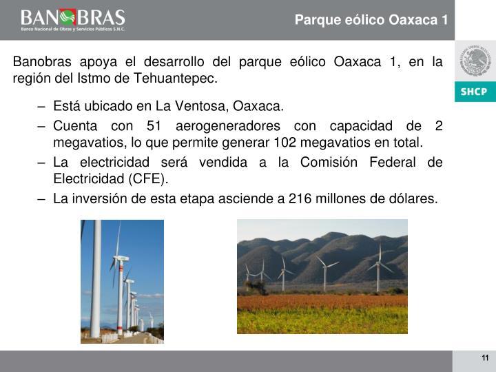 Parque eólico Oaxaca 1