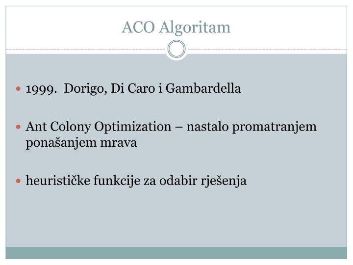 ACO Algoritam