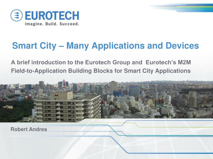 smart city many applications and devices n.