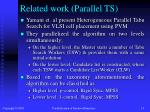 related work parallel ts
