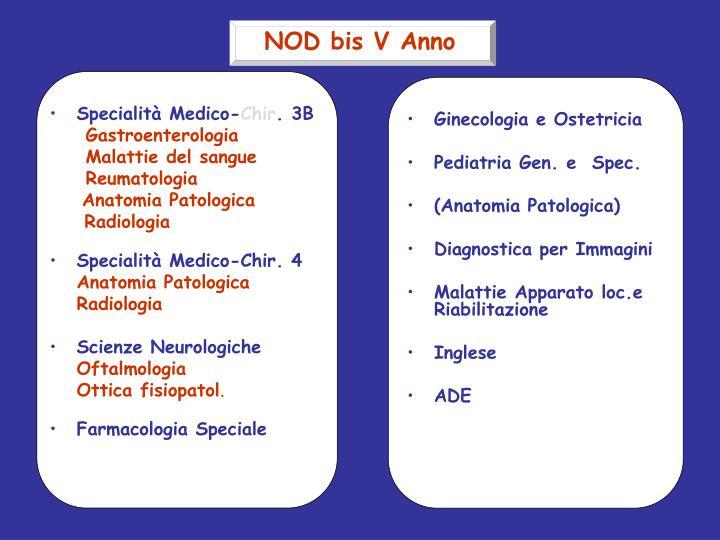 Specialità Medico-