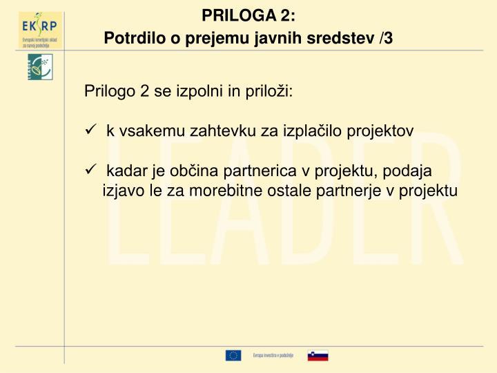 PRILOGA 2:
