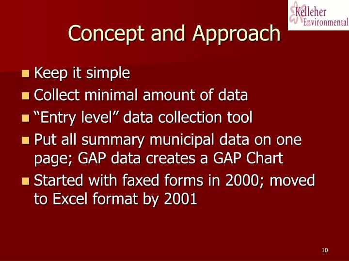 Concept and Approach
