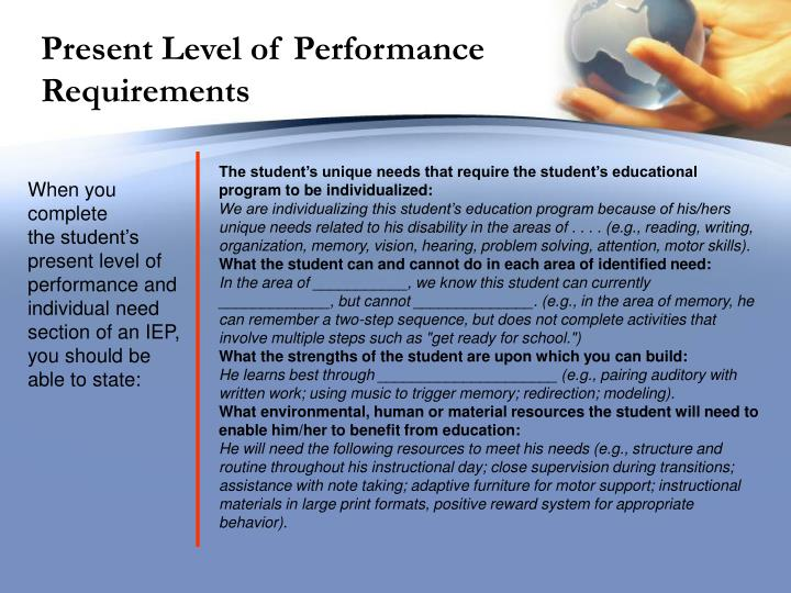level of effectiveness on the performance Measures of project management performance and to the organizational level that can immediately that enable efficient and effective execution.