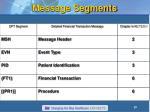 message segments