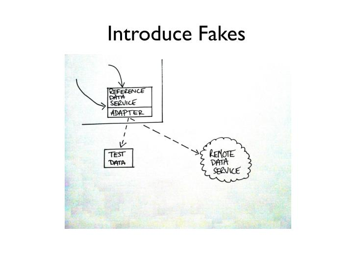 Introduce Fakes