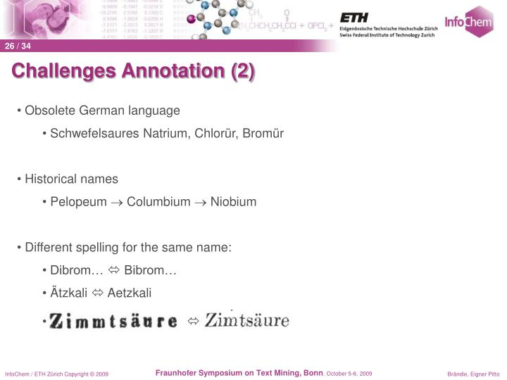 Challenges Annotation (2)