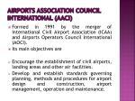 airports association council international aaci