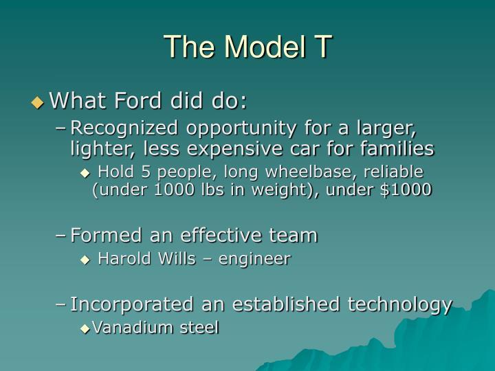 The Model T