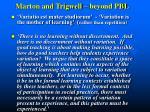 marton and trigwell beyond pbl