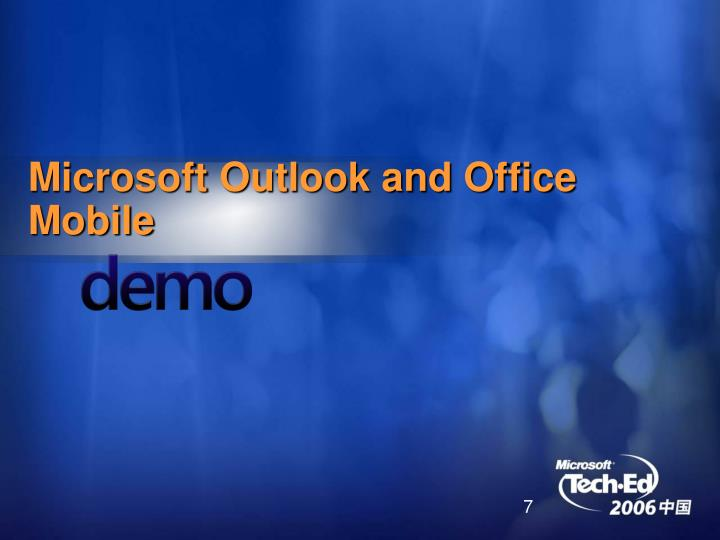 Microsoft Outlook and Office Mobile