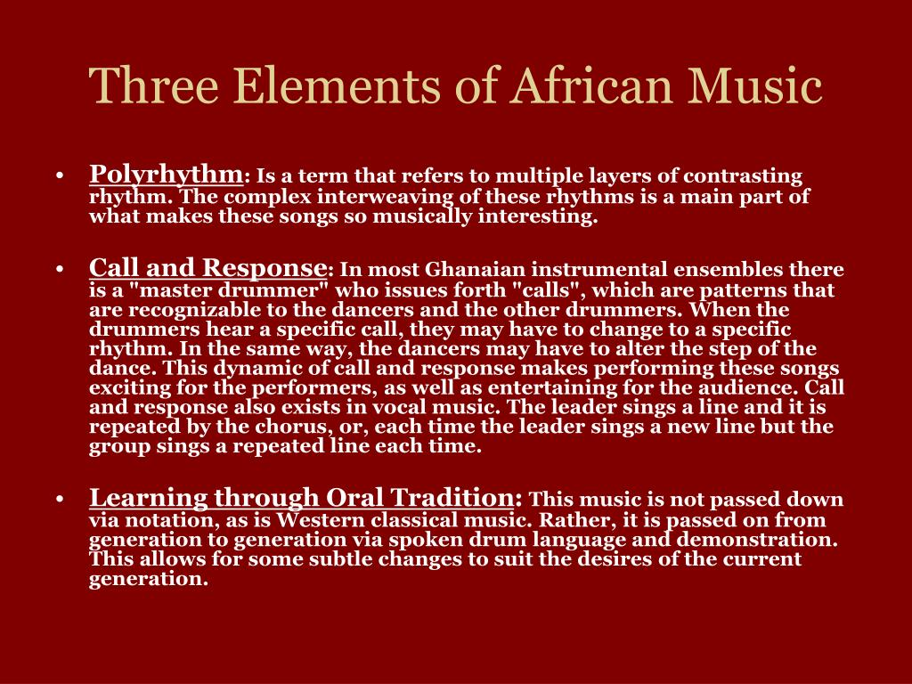 PPT - From Africa to Jazz PowerPoint Presentation - ID:4611137