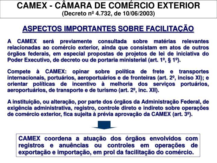 CAMEX - CÂMARA DE COMÉRCIO EXTERIOR