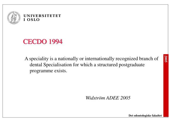 CECDO 1994