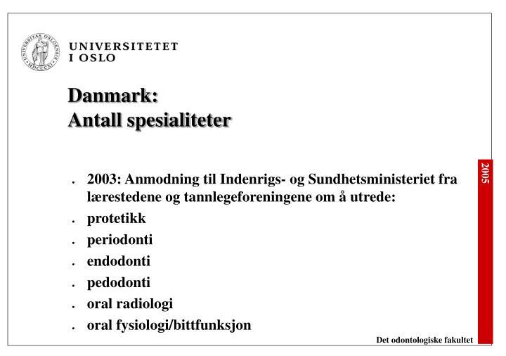 Danmark: