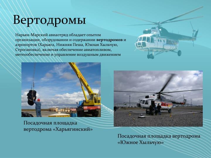 Вертодромы