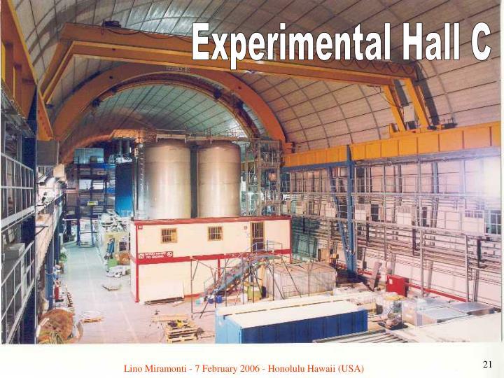 Experimental Hall C