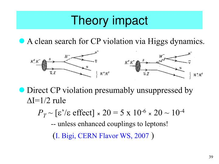 Theory impact