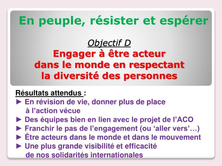 Objectif D