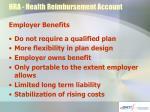 hra health reimbursement account