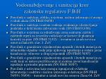 vodosnabdjevanje i sanitacija kroz zakonsku regulativu f bih