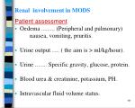 renal involvement in mods2