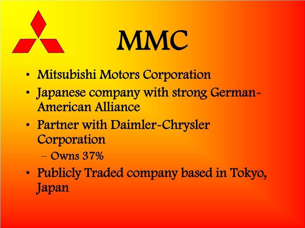 PPT - Mitsubishi Motors Corporation PowerPoint Presentation