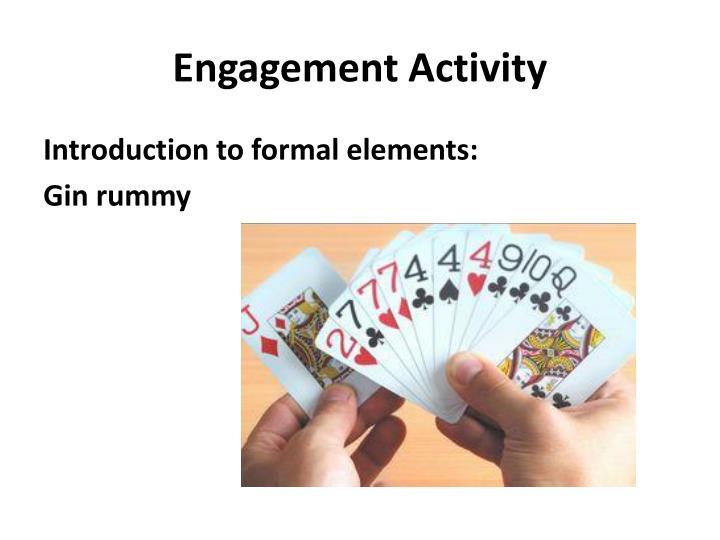 Engagement activity