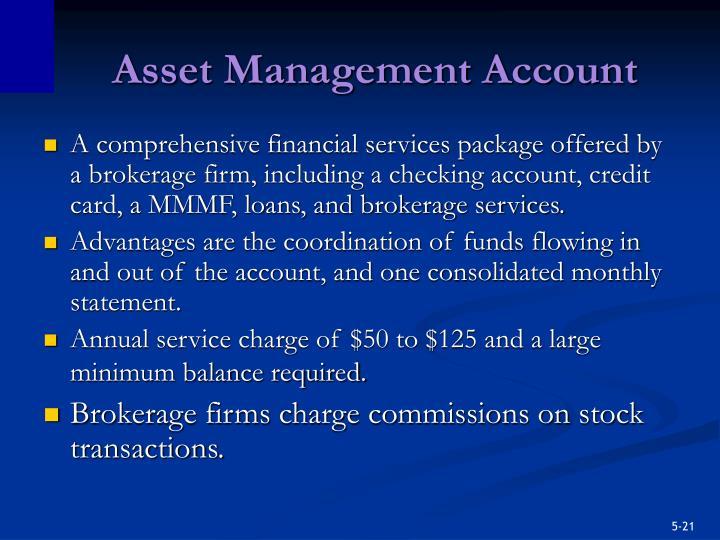 Asset Management Account