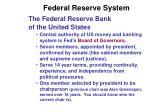 federal reserve system1