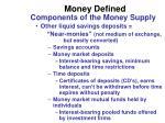 money defined2