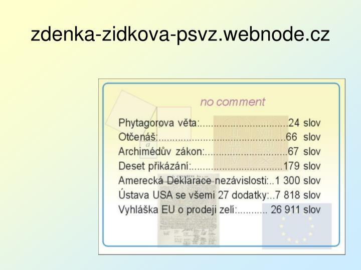 zdenka-zidkova-psvz.webnode.cz