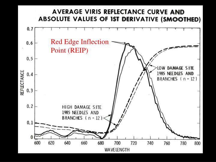 Red Edge Inflection Point (REIP)
