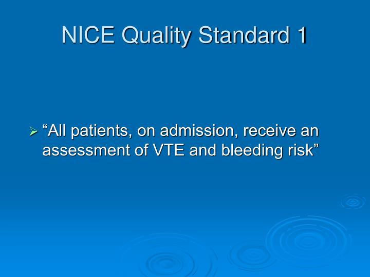 Nice quality standard 1