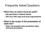 frequently asked questions6