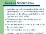 balancing authority areas