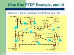 nine bus ptdf example cont d
