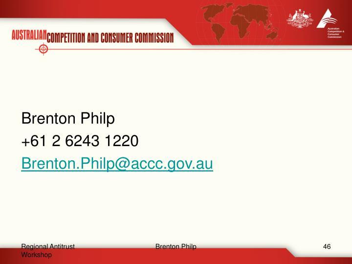 Brenton Philp