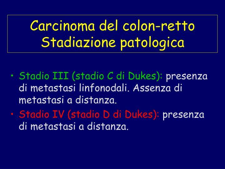 Carcinoma del colon-retto