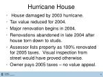 hurricane house