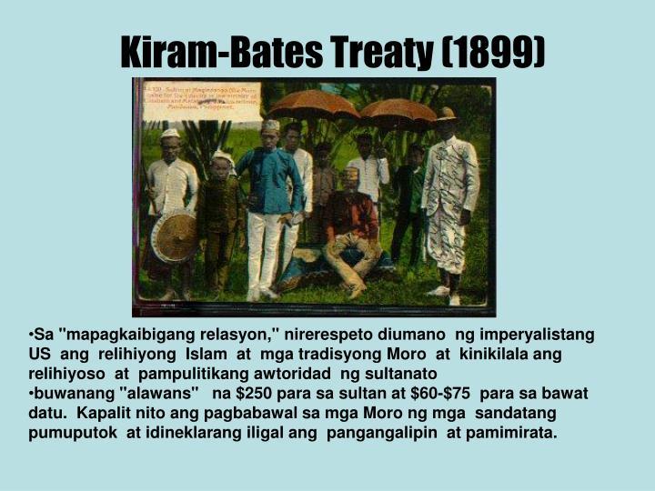 Kiram bates treaty 1899